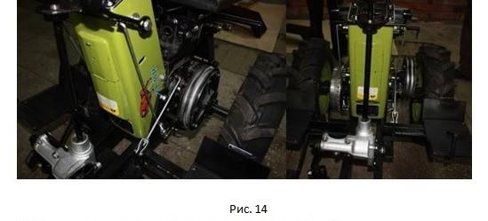 инструкция переделки трактор из мотоблока