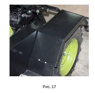 инструкция как сделать трактора с мотоблока, фото 22