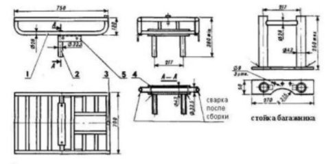 опорные трубы для адаптера
