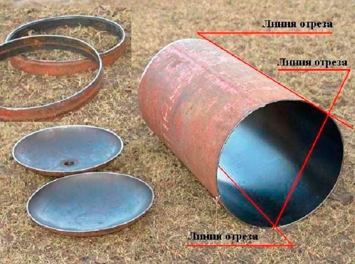 основа для лопаты-отвала