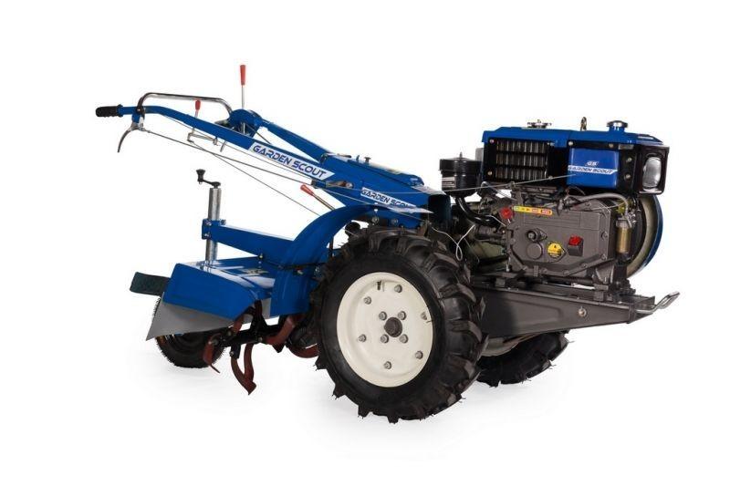 Мотоблок Скаут отлично подойдёт для переделки в трактор