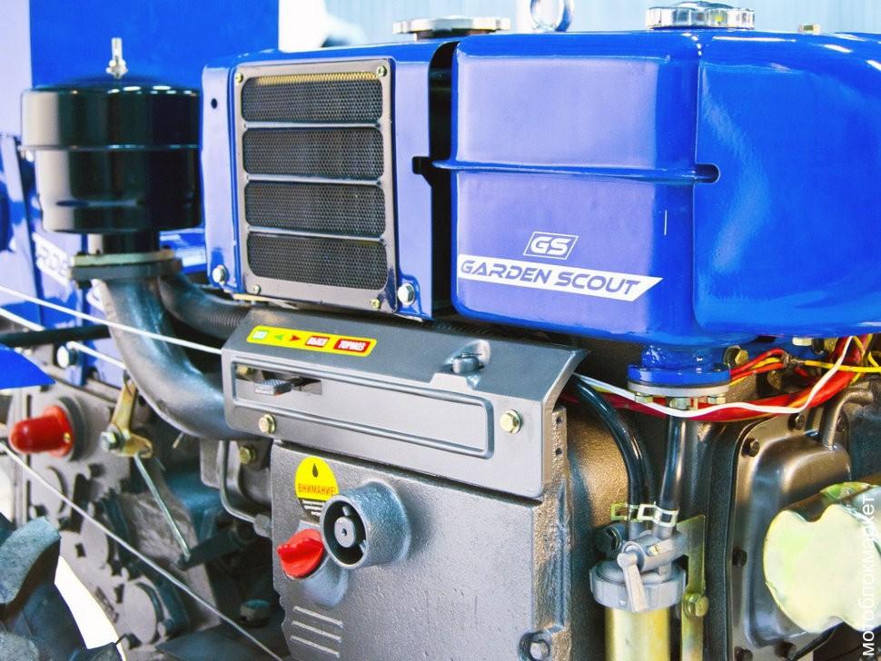 Фото - Дизельный мотоблок Скаут GS 81 D (Комплект)