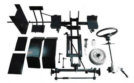 Комплект для переделки мотоблока в минитрактор