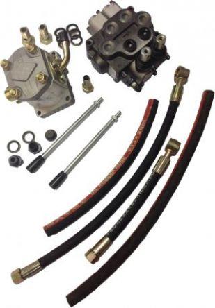 Набор 2-х секционной гидравлики для мототрактора цена
