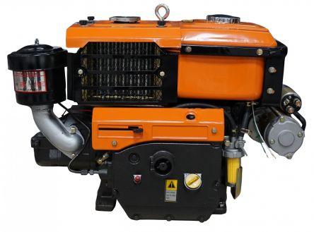 Двигатель Файтер R195ANE с электростартером цена- Фото №1