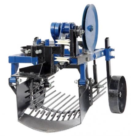Картофелекопатель вибрационный под мототрактор с гидравликой Скаут (ЧП Крючков) цена