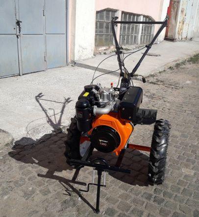 Мотоблок Forte 1350E (оранжевый) (81306)
