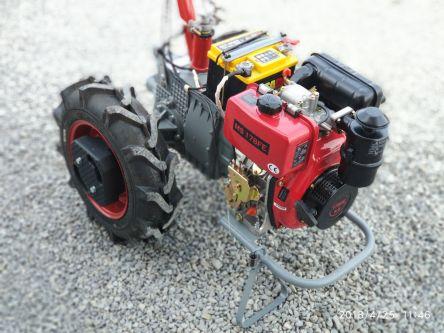 """Фото - Мотоблок """"Мотор Сич МБ-6ДE"""", с дизельным двигателем Weima WM178FЕ (электрический запуск)"""