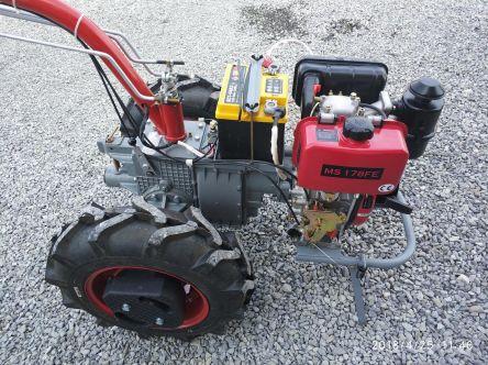 """Фото - Мотоблок """"Мотор Сич МБ-6"""", с бензиновым двигателем Д-250 (ручной запуск)"""