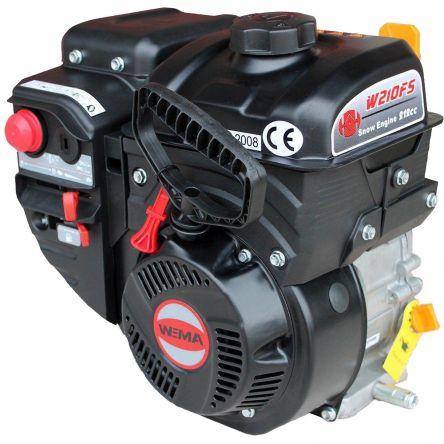 Двигун бензиновий WEIMA W210FS Q3 цена- Фото №1