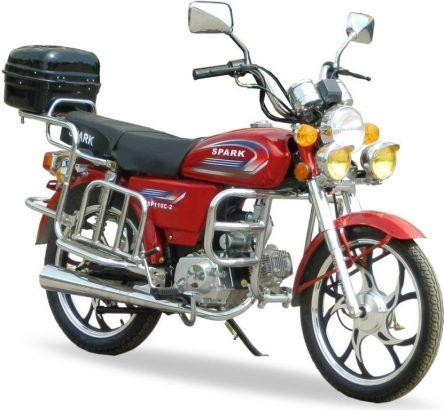 Мотоцикл (Альфа) Spark SP110C-2C (74550)