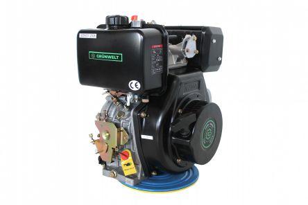 Двигатель Grunwelt GW 186FB-W (21071)