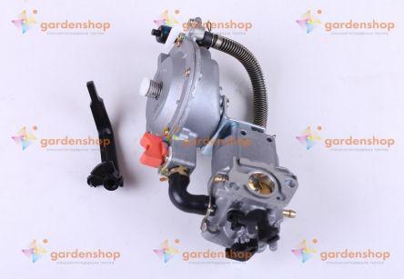 Карбюратор с газовым редуктором - на двигатель 168F, 170F (VM136-168F)