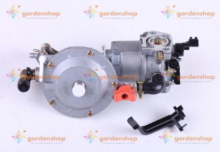 Карбюратор с газовым редуктором - на двигатель 168F, 170F цена