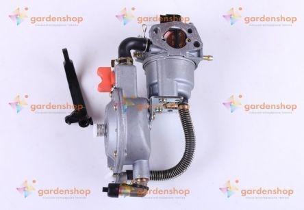 Фото - Карбюратор с газовым редуктором - на двигатель 168F, 170F