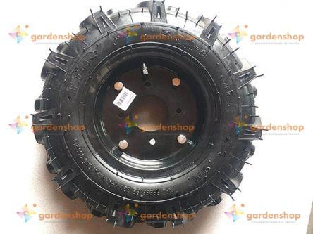 Колесо в сборе 4.00*8 (под 4 болта) 4,45 кг TTG цена- Фото №1