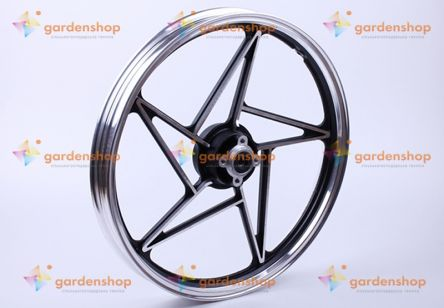 Диск передний литой, дисковый тормоз 18*1,6 (black) - СВ-125/150 цена