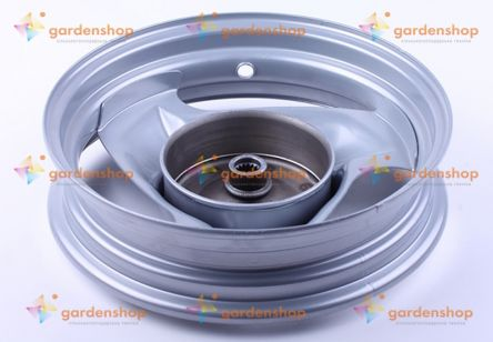 Диск задний стальной 10*2,15 барабанный тормоз - Yamaha JOG 50 цена- Фото №1