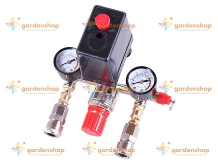 Автоматика для компрессора в сборе 220 вольт, 2 выхода (тип 1) - Compressor цена- Фото №1
