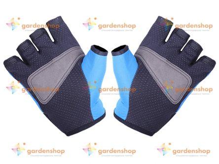 Мотоперчатки YM001-15 синие L (HM-042)- Фото №2