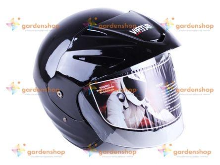 Шлем MD-705H черный size L - VIRTUE цена- Фото №1
