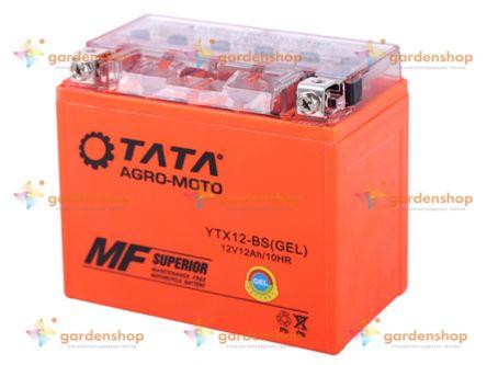 Аккумулятор гелевый, 12(10)Аh UTX12-BS, оранж., 150*87*130мм - OUTDO цена- Фото №1