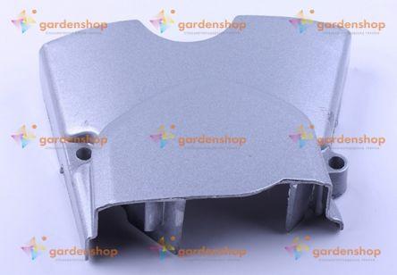 Крышка двигателя левая вилка (метал) - Дельта/Альфа цена- Фото №1