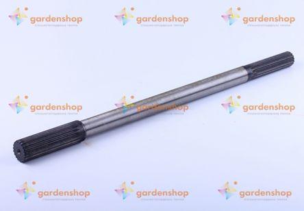Вал карданный приводной L-505 mm Z-15/19 Foton 244, Jinma 244/264 цена- Фото №1