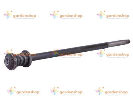 Вал рулевого механизма L-580mm (с подшипником) - DongFeng 354/404 цена- Фото №1