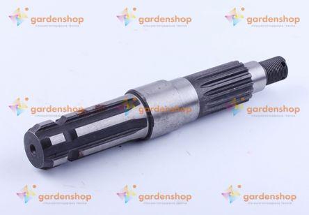 Вал ВОМ L-232mm, Z-6/16 Xingtai 240/244 цена- Фото №1