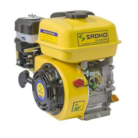 Двигатель Sadko GE-200 PRO шлицевой вал цена