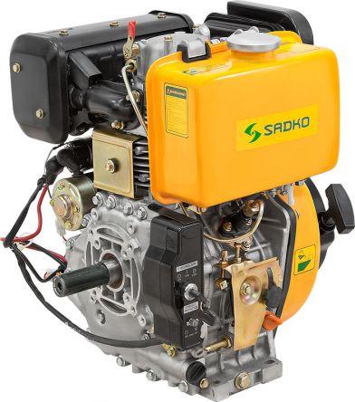 Двигатель Sadko 410DE (Kama 186 FE diesel) электростартер (под шпонку) (gs-2108)