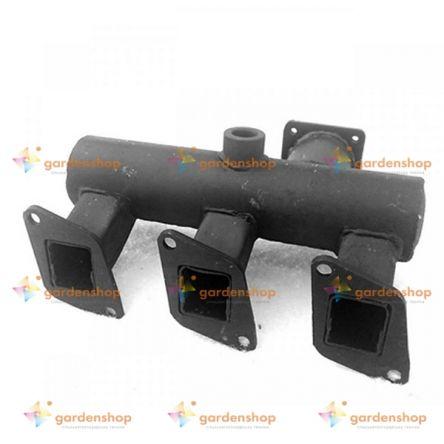 Коллектор впускной (тип2) КМ385ВТ (DongFeng 240/244, Foton 240/244, Jinma 240/244) цена- Фото №1