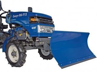 Отвал для тракторов Скаут Т12(M)-Т24 цена