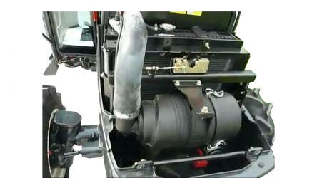 Фото - Минитрактор Kioti EX50CCR (с отапливаемой кабиной и кондиционированием)- Фото №3