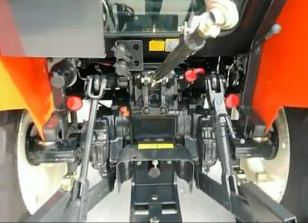 Минитрактор Kioti RX6010C (отапливаемая кабина) (gs-3113)