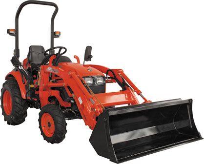 Фронтальный погрузчик KL 130 для трактора Kioti CK35 цена