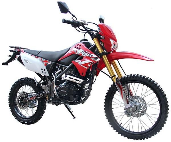 Мотоцикл Skybike CRDX 200