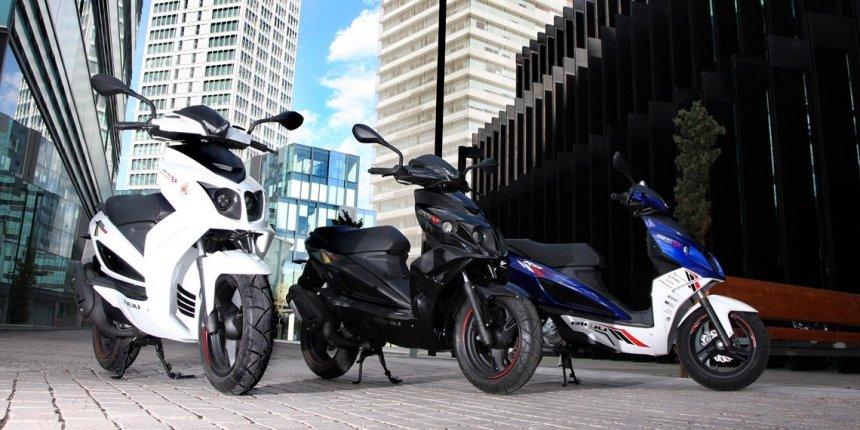 виды скутеров